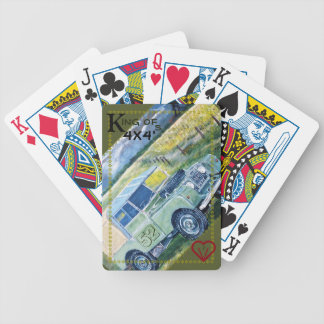52 king of 4x4's Bicycle 🚴 Playing Cards
