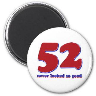 52 years magnet