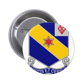 52nd Infantry Regiment - Brave and True 6 Cm Round Badge