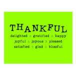 5318__thankful__ THANKFUL DELIGHTED GRATIFIED HAPP