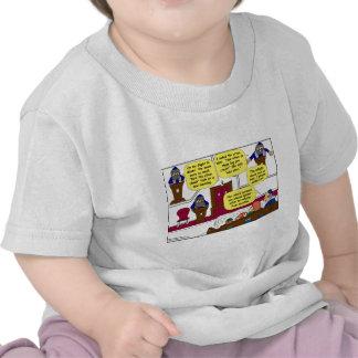 531 Rabbi Vacation cartoon T-shirts