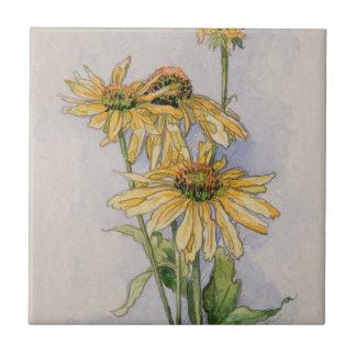 5331 Yellow Coneflowers Tile