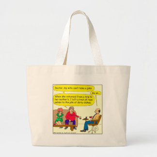 536 dirty dishes cartoon tote bag