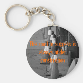 538322407_7856d9a679, The road to success is al... Key Ring