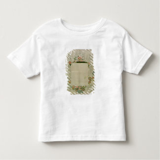53:Mirror frame, unfinished embroidery in coloured Toddler T-Shirt