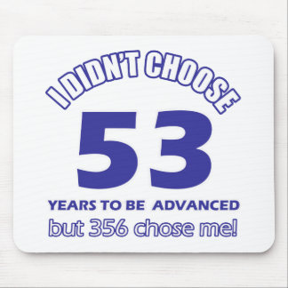 53 years advancement mousepads