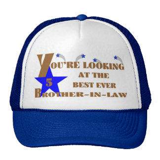 53Best Ever 5-Star Brother-in-law Cap