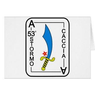 53o Stormo Greeting Card