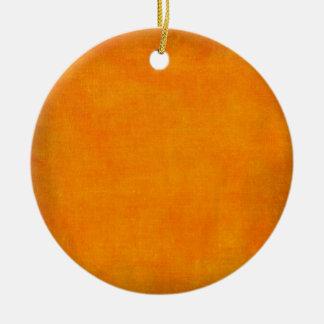 5451_sports ORANGE POPSICLE TEXTURE BACKGROUND TEM Christmas Ornament