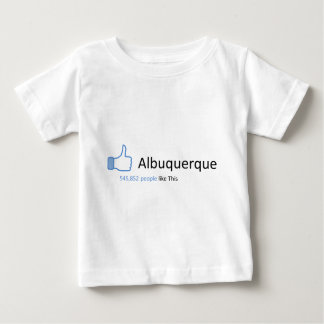 545852 people like Albuquerque Baby T-Shirt