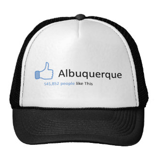545852 people like Albuquerque Cap