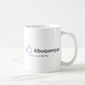 545852 people like Albuquerque Basic White Mug