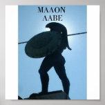 545_King_Leonidas_statue, MALON LABE Poster