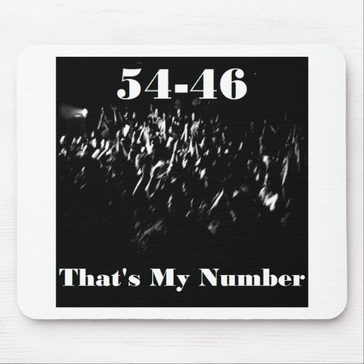 54-46 Title non clothing items Mouse Mat