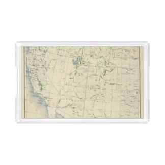 54 Areas irrigated 1889