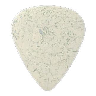 54 Areas irrigated 1889 Acetal Guitar Pick