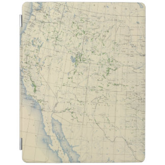 54 Areas irrigated 1889 iPad Cover