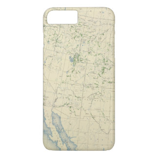 54 Areas irrigated 1889 iPhone 8 Plus/7 Plus Case