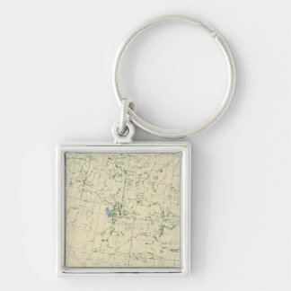 54 Areas irrigated 1889 Key Ring