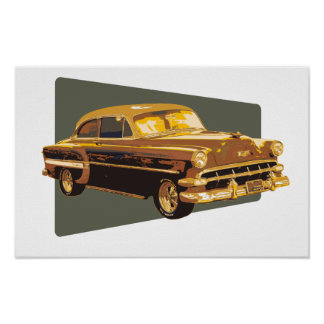 54 Chevy Poster