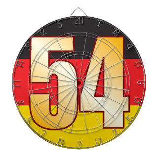 54 GERMANY Gold Dartboard