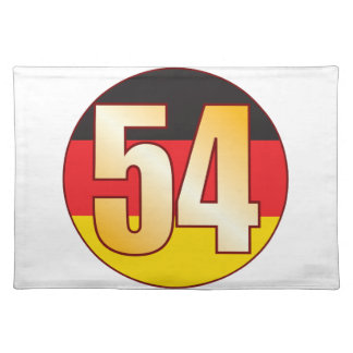 54 GERMANY Gold Placemat