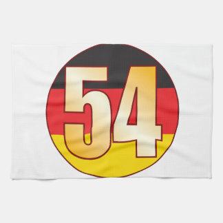 54 GERMANY Gold Tea Towels