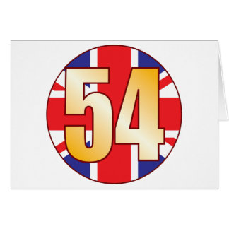 54 UK Gold Card