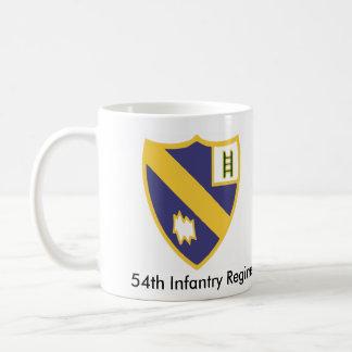 54th Infantry Regiment Basic White Mug