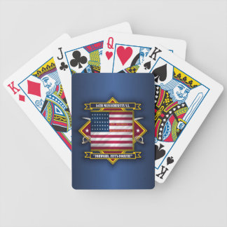 54th Massachusetts V.I. Bicycle Playing Cards