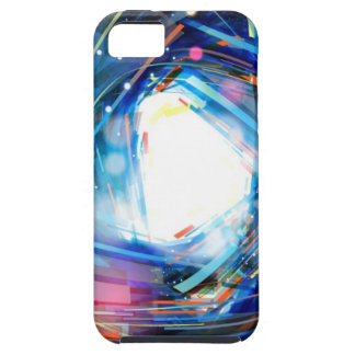555 Abstract Background Vector Graphic DIGITAL SWI iPhone 5 Case