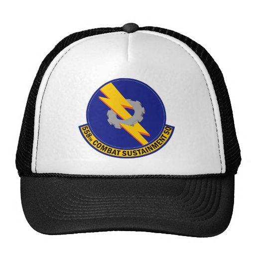 558th Combat Sustainment Squadron Trucker Hat