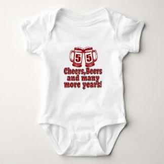 55 Cheers Beer Birthday Tshirts