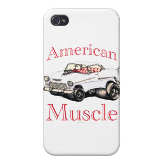 55 chevy American Muscle iPhone 4 Case