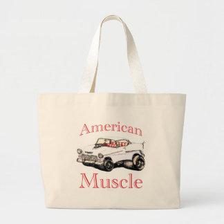 55 chevy American Muscle Jumbo Tote Bag