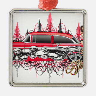 55 chevy car.jpg Silver-Colored square decoration