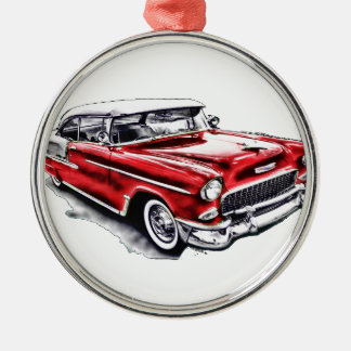 55 Chevy Christmas Ornament