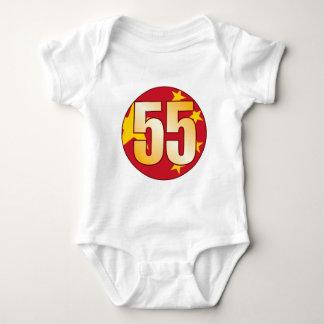 55 CHINA Gold Baby Bodysuit