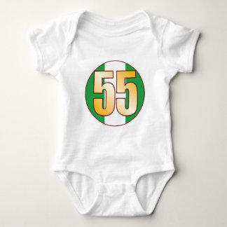 55 NIGERIA Gold Baby Bodysuit