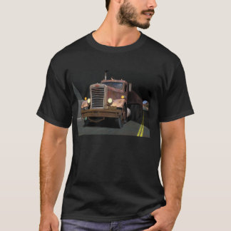 '55 Peterbilt Tunnel Scene T-Shirt