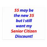 55 Senior Citizen Post Card