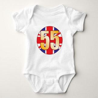 55 UK Gold Baby Bodysuit