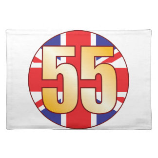 55 UK Gold Placemat