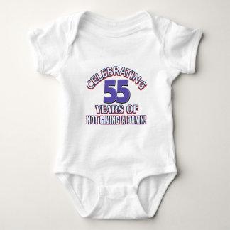 55 year old designs tshirt