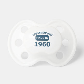 55 YEARS OLD BIRTHDAY DESIGNS BABY PACIFIER