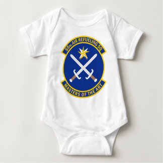 55th Air Refueling Squadron - Masters Of The Art Baby Bodysuit