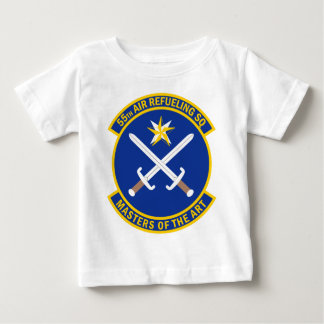 55th Air Refueling Squadron - Masters Of The Art Baby T-Shirt