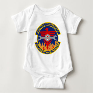 55th Aircraft Maintenance Squadron Baby Bodysuit