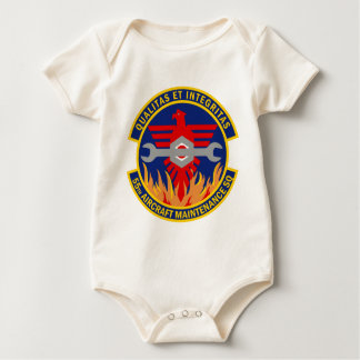 55th Aircraft Maintenance Squadron Baby Bodysuits