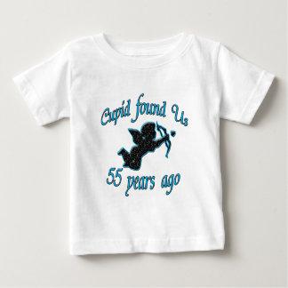 55th. Anniversary Baby T-Shirt